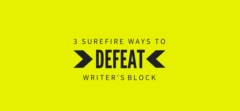 Blog----Surefire-ways-to-defeat-writer's-block