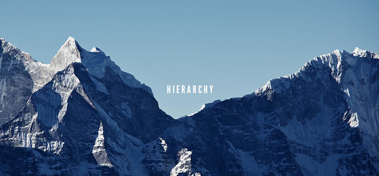 heirarchy