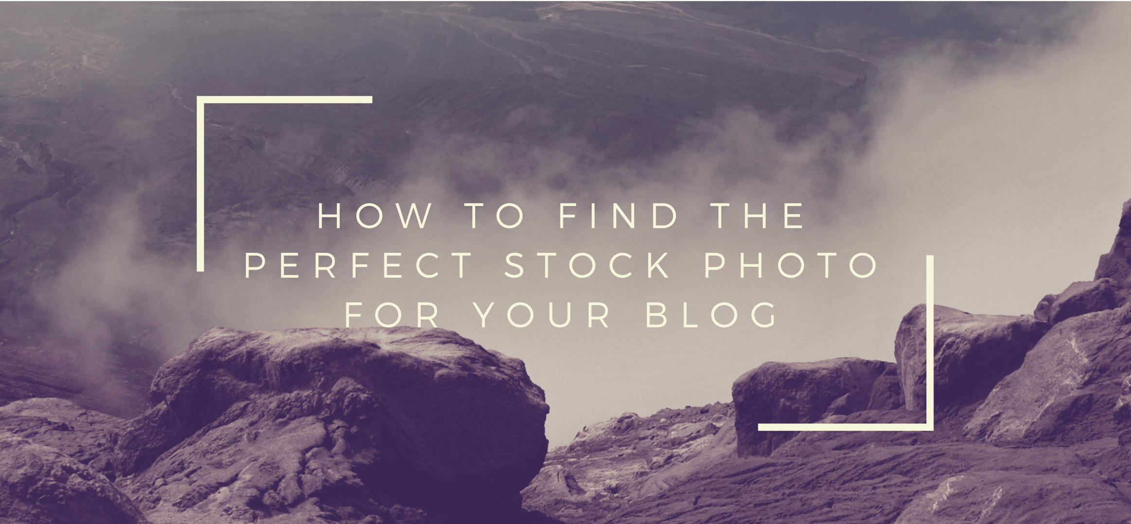 How to find the perfect stock photos for your blog
