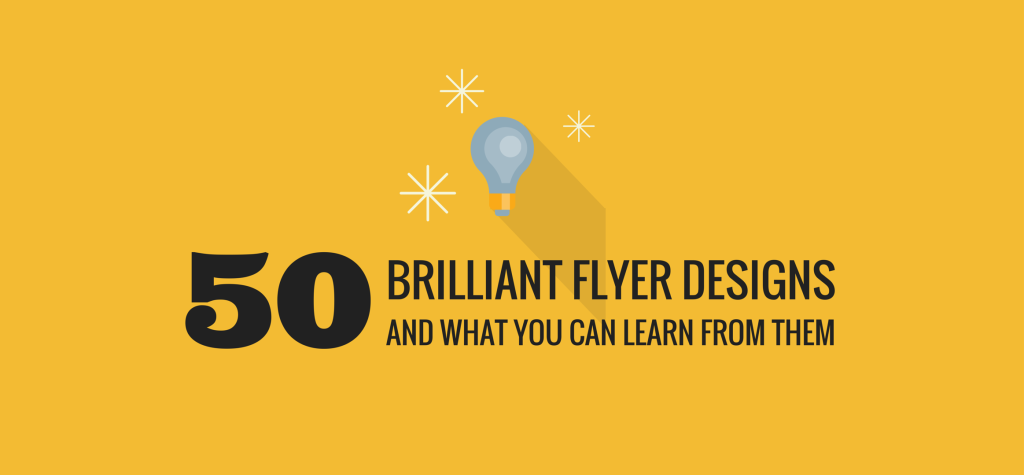 flyer design  50 brilliant examples you can learn from  u2013 learn