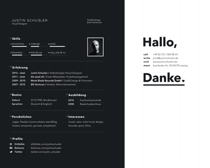 design for resumes