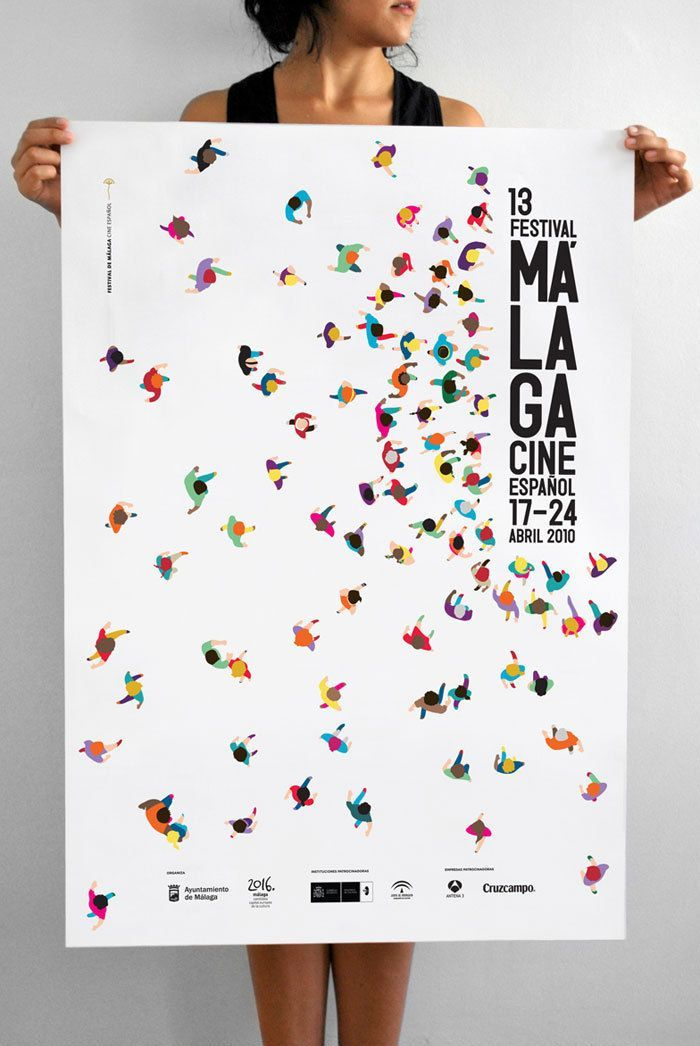 25 ways to design an awesome poster and create a buzz for