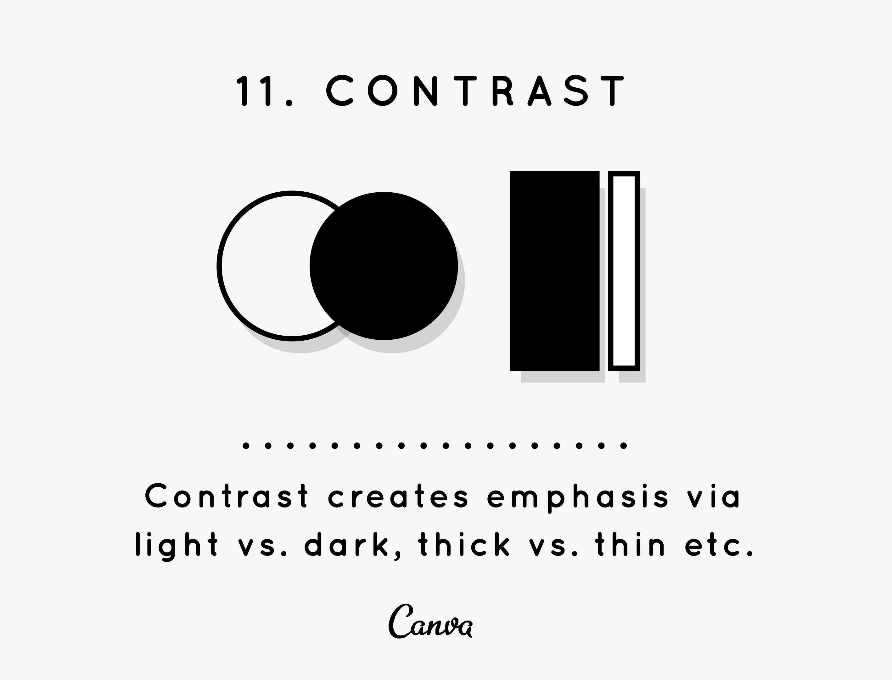 Design Elements And Principles Tips Inspiration By Canva The Diagram Below Is Just A Rough Guide To Layout Of Typical Contrast Often Magical Key Ingredient Making Your Designs Pop Which Sometimes Frustrating Demand From Many Clients