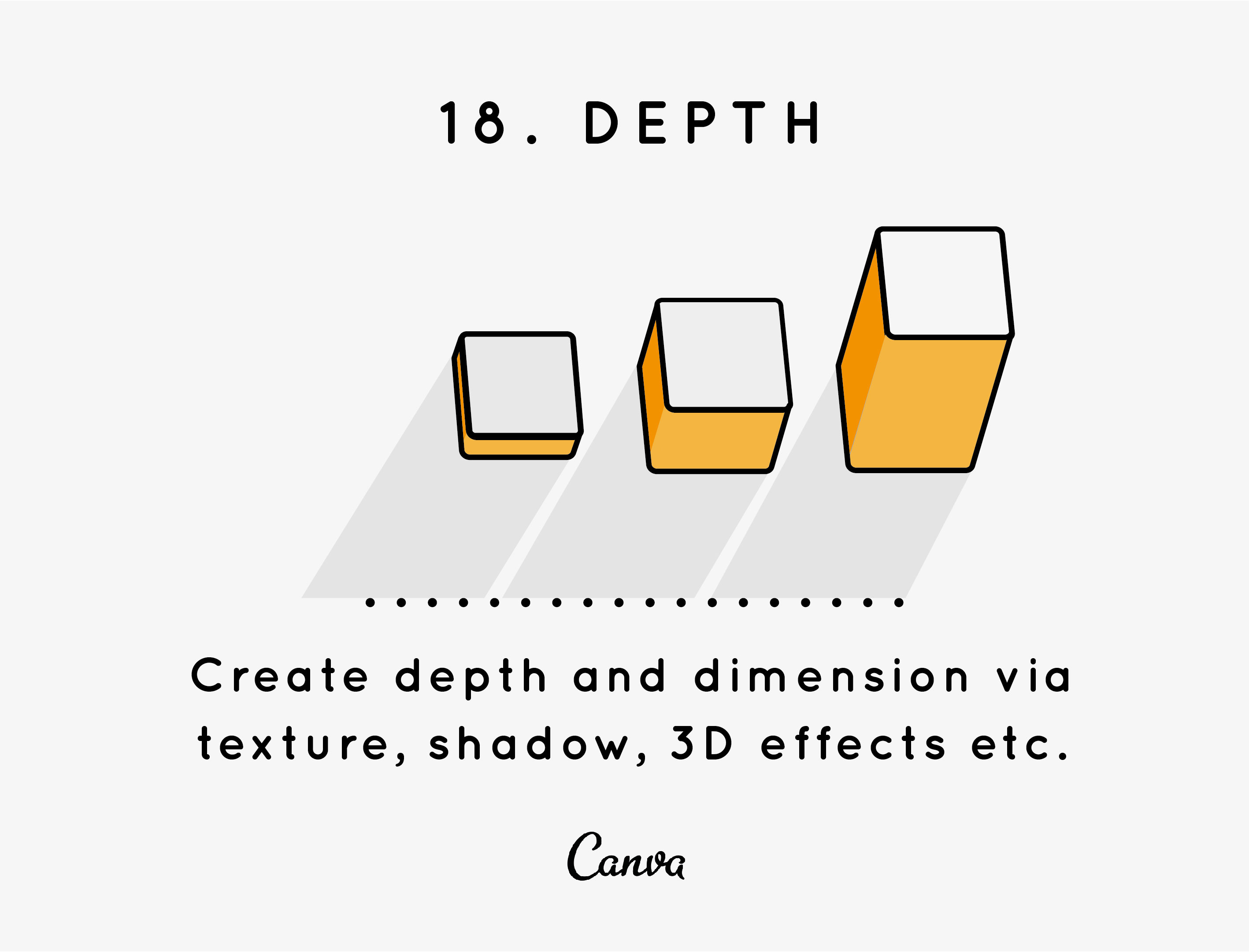 Design Elements And Principles Tips Inspiration By Canva The Diagram Below Is Just A Rough Guide To Layout Of Typical Depth An Important Exciting Principle In World Even With Flattest Mediums You Are Able Create Sense