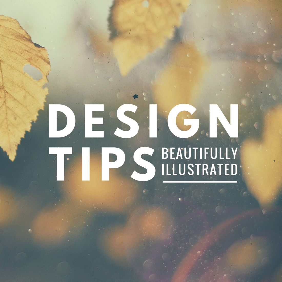 Beautifully Illustrated Design Tips