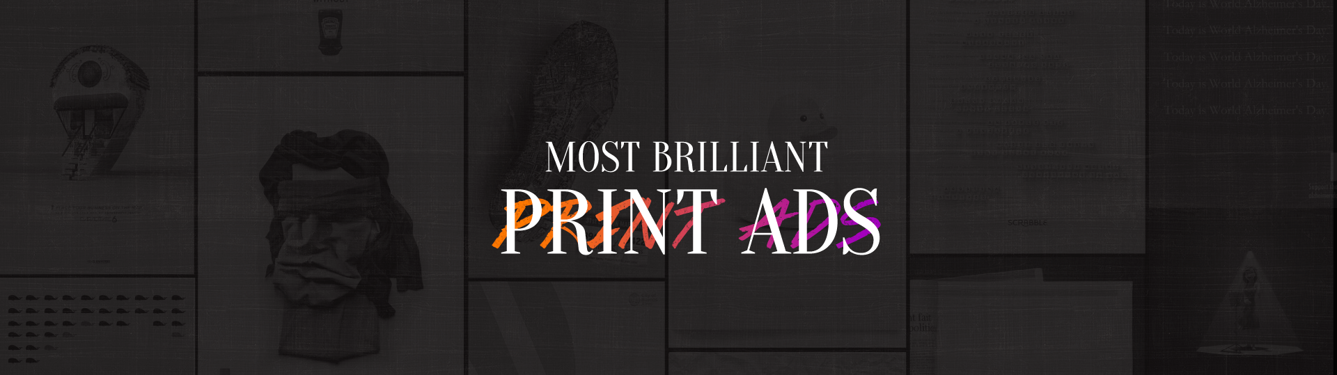 50 Genius Print Ads With Brilliant Design Techniques Learn
