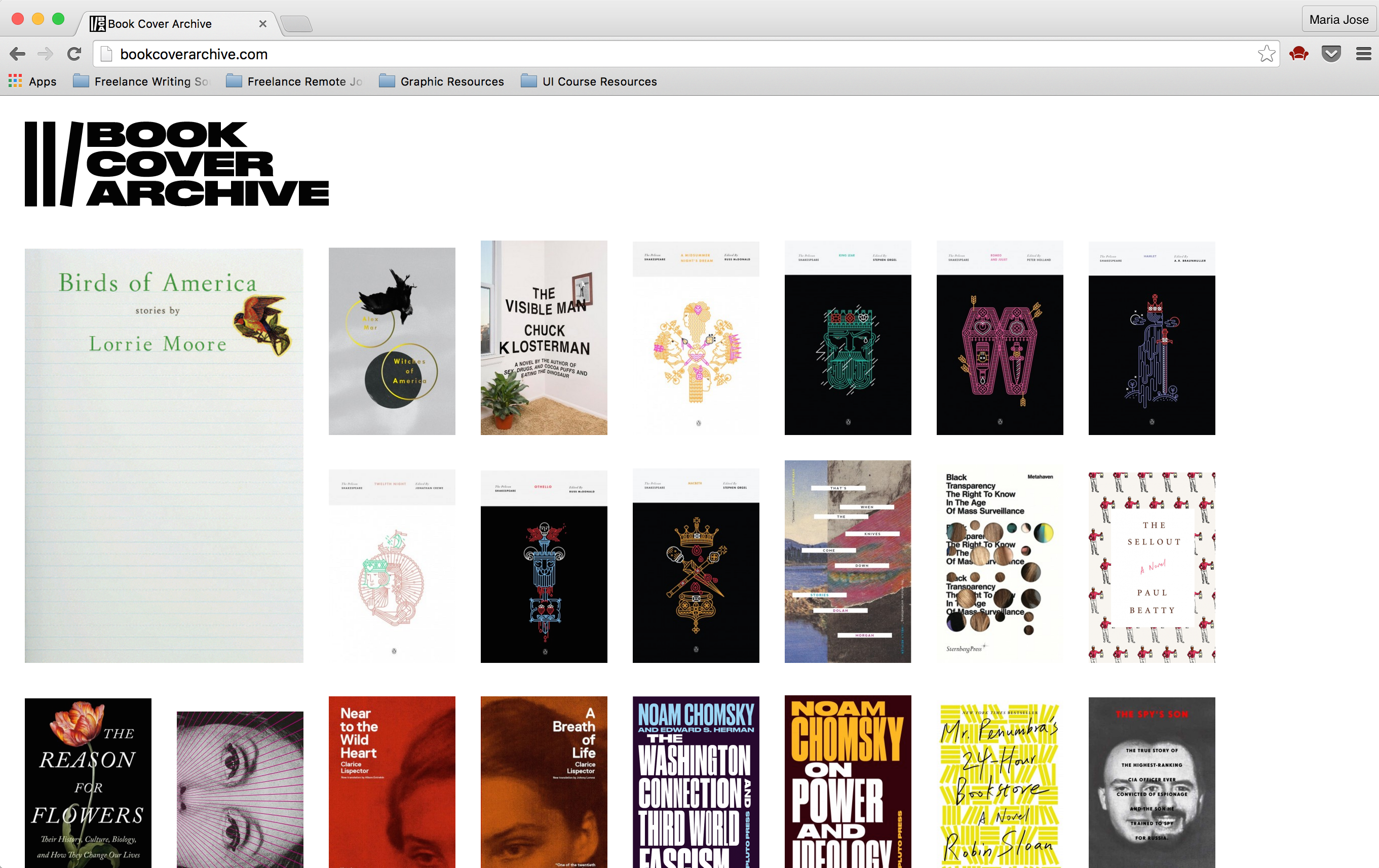 Book Cover Archive : Headers guaranteed to draw readers into any post