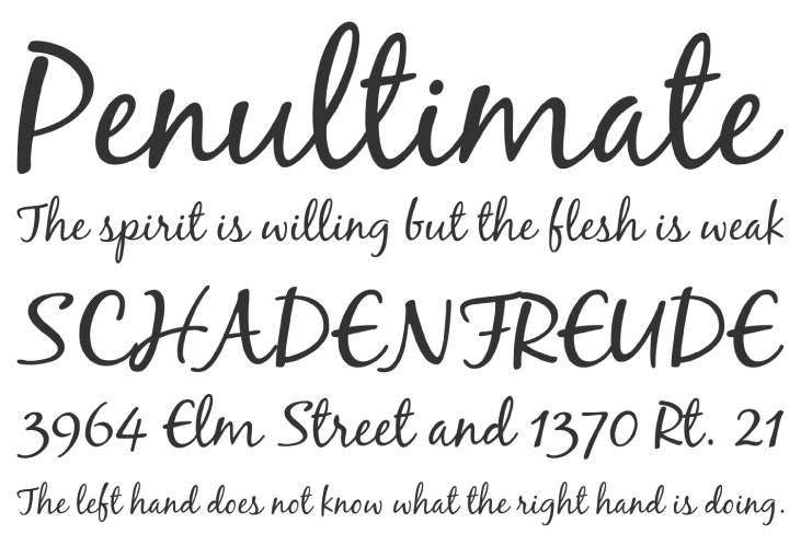Free calligraphy fonts to bring charm your designs