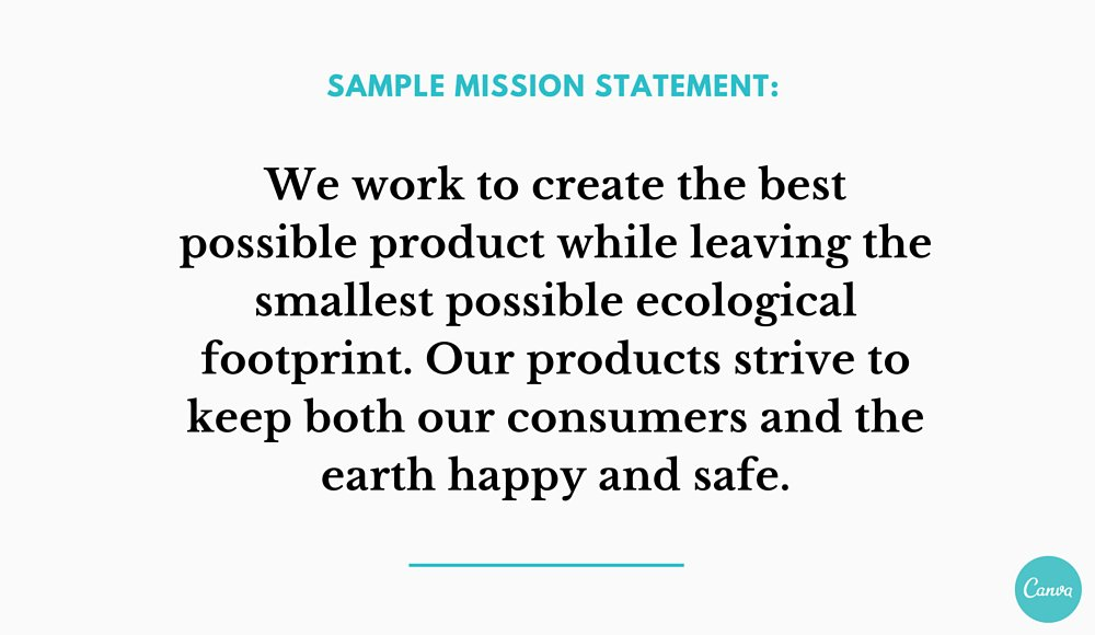 Example Of Mission Statement Vision And Mission Statement Example