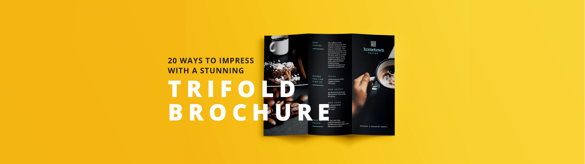 Design Trifold Brochures That Get Your Business Noticed