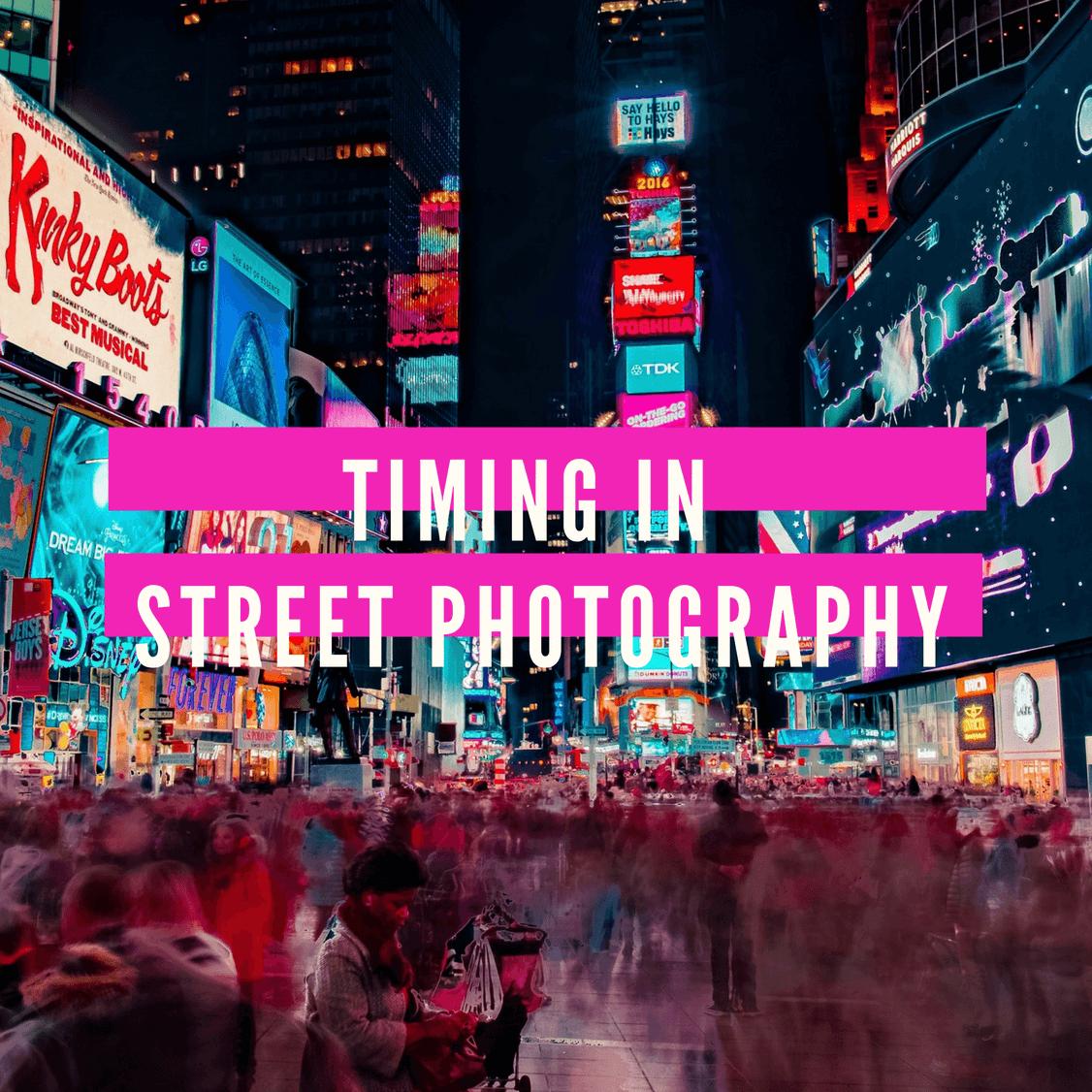 Street Photography Canva