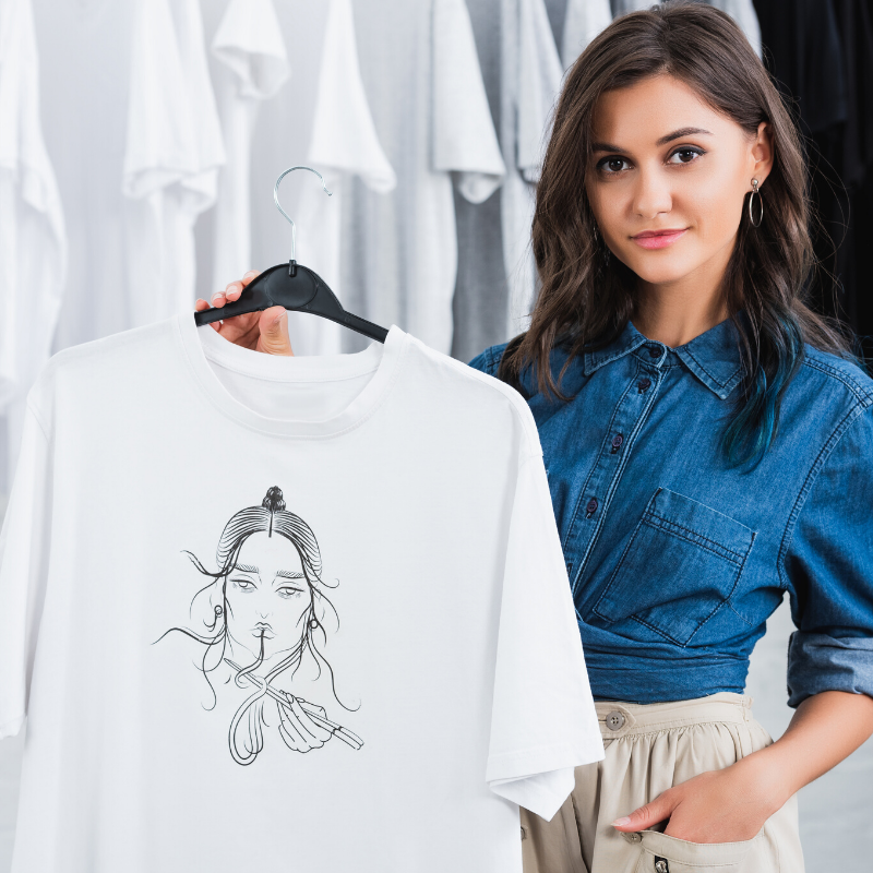 How to design a t-shirt from scratch